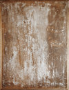 Weathered cracked white painted wood background Stock Images