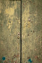 Weathered old door Royalty Free Stock Image
