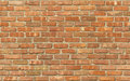 Weathered Red Brick Wall Texture