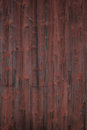 Weathered red painted wooden panel of a swedish an old swedish cottage Stock Images