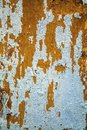 Weathered white painted wood, old damaged paint Royalty Free Stock Photo