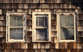Weathered Windows Royalty Free Stock Photos