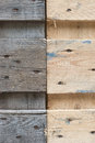 Weathered wood aging and as design element Royalty Free Stock Image