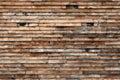 Weathered Wood Siding. Royalty Free Stock Photo