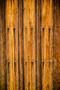 Weathered wooden door texture Stock Image