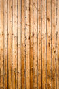 Weathered yellow fence from natural Royalty Free Stock Photos