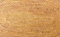 Weave pattern rattan background woven with natural patterns are made ​​by handmade Stock Image