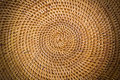 Weave pattern rattan background woven with natural patterns are made ​​by handmade Stock Images