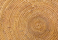 Weave pattern rattan background woven with natural patterns are made ​​by handmade Royalty Free Stock Images