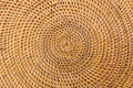 Weave pattern rattan background woven with natural patterns are made by handmade Royalty Free Stock Photos