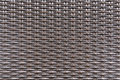 Weave plastic wicker  rattan pattern seamless background texture. Royalty Free Stock Photo