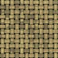 Weave seamless texture Royalty Free Stock Images