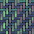 Weave seamless texture Royalty Free Stock Photography