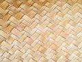Weave sedge mat background Royalty Free Stock Photo
