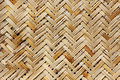 A weaved basket in a natural color Royalty Free Stock Photo