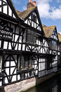 The weavers cottages in canterbury kent uk april are one of s most famous buildings built s is a unesco world Stock Photo