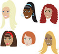 Weaves, Wigs & Extentions Royalty Free Stock Image