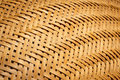 The weaving from bamboo Royalty Free Stock Photo