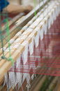 Weaving loom Stock Image