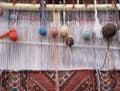 Weaving loom Royalty Free Stock Photo