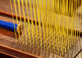 Weaving machine Royalty Free Stock Images