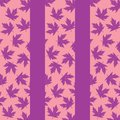 Background with lilac maple leaves