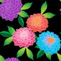 Elegant floral seamless repeat pattern