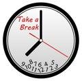 Take a break to release stress Royalty Free Stock Photo