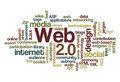 Web 2.0 - Word Cloud Stock Photo