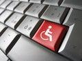 Web Accessibility Icon Symbol Royalty Free Stock Photo