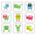 Web animals icons. Royalty Free Stock Photos