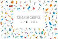 Web banner or gift card template for a cleaning service.