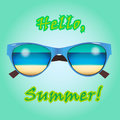 Web banner for summer sale, card, poster or ads