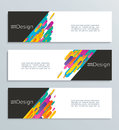 Web banner for your design, header template. Royalty Free Stock Photo