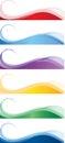 Web banners Stock Image