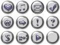 Web button Stock Image