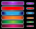 Web Buttons colorful Royalty Free Stock Photos