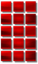 Web buttons glossy set of made of glass shiny colorful square rectangle circle Royalty Free Stock Image