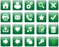 Web buttons / icons Royalty Free Stock Photo