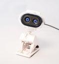 Web Cam Spy Eyes Royalty Free Stock Photo
