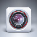 Web camera icon vector illustration Royalty Free Stock Photography