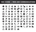 Web & Communication icons Stock Photo