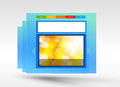 Web design concept aer Royalty Free Stock Photos