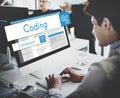 Web Design Website Coding Concept Royalty Free Stock Photo