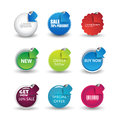 Web element buttons or links vector eps Stock Photo