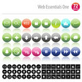 Web Essentials One 72 Royalty Free Stock Image