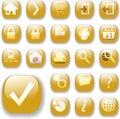 Oro icono