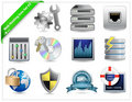 Web Hosting Icons Royalty Free Stock Photo