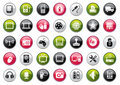 Web Icon Collection Stock Image