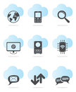 Web icon set Royalty Free Stock Photography
